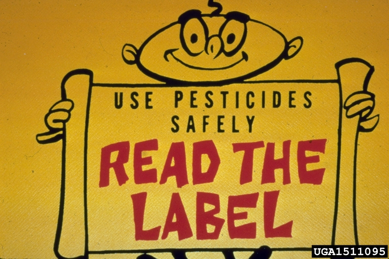 Always read and follow label directions for application for all pesticides!